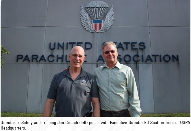 USPA Bids Farewell to Jim Crouch