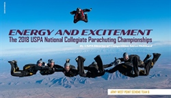 Energy and Excitement—The 2018 USPA National Collegiate Parachuting Championships