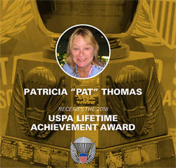 "Leadership, Generosity and Passion—Patricia ""Pat"" Thomas Receives the 2018 USPA Lifetime Achievement Award"