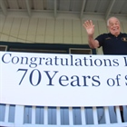 Lew Sanborn Marks 70 Continuous Years of Jumping