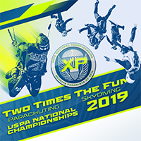 Two Times the Fun—2019 USPA National Championships