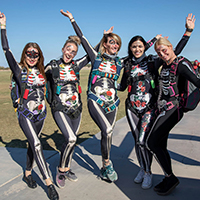 Skydive Arizona Kicks Off Fall with Halloween Boogie