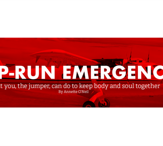 Jump-Run Emergencies—What You, the Jumper, Can Do to Keep Body and Soul Together