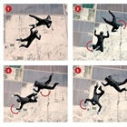 Mixed Formation Skydiving Block 10 (Flat Stairstep)
