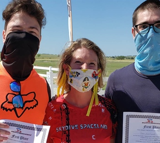 Spaceland Hosts Sixth Annual 3-Way Formation Skydiving Competition