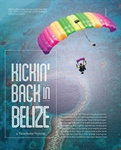 Kickin' Back in Belize- A Parachutist Pictorial