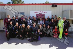 Team Elite Challenges Expert Skydivers at Eloy
