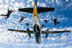 Team 6—The Aircraft Crew Behind the U.S. Army Golden Knights
