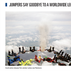 Jumpers Say Goodbye To A Worldwide Legend
