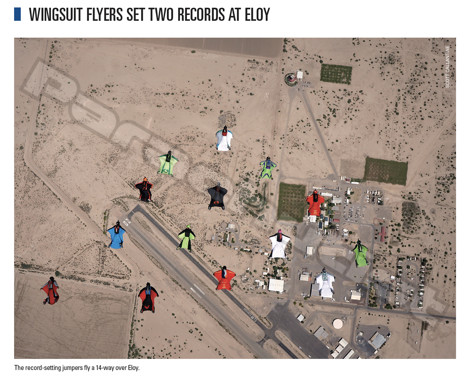 Wingsuit Flyers Set Two Records At Eloy