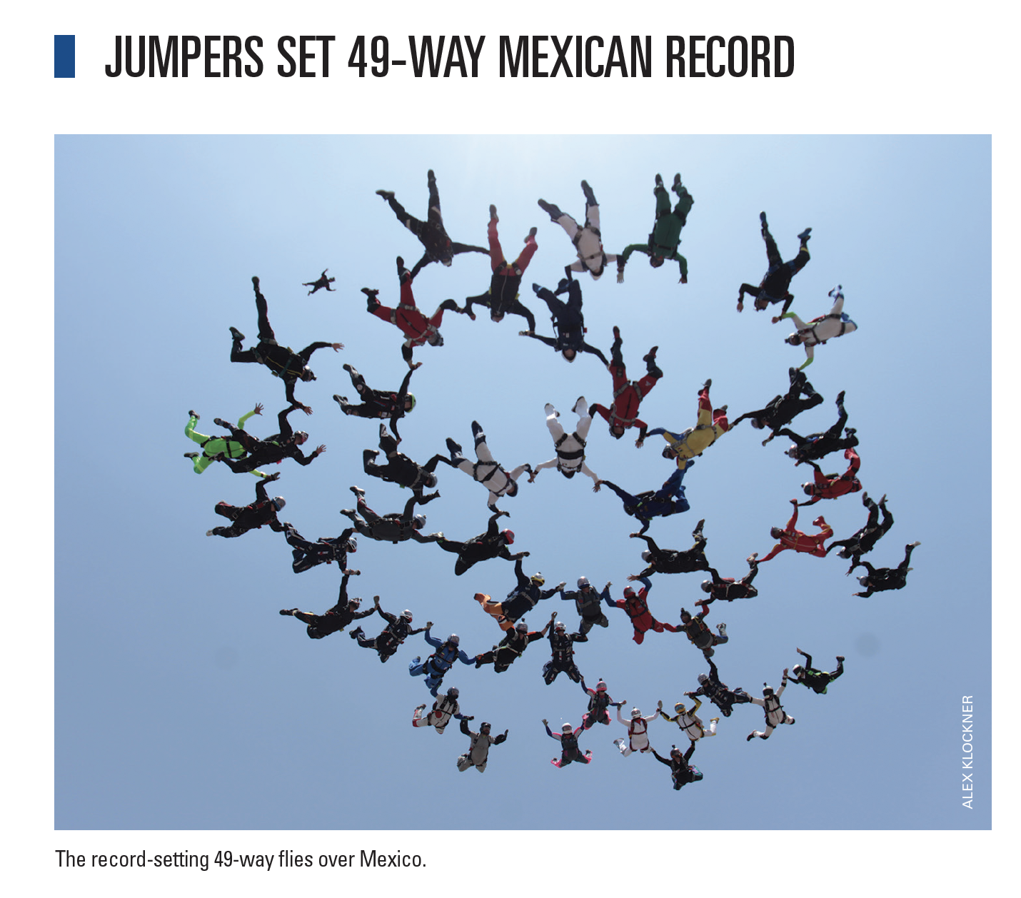Jumpers Set 49-Way Mexican Record