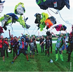 Skydive Midwest Hosts Sun Path Sequentials