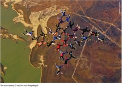 Botswana Welcomes Skydivers To The Makgadikgadi Epic Event