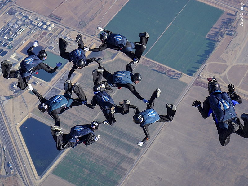 USPA > United States Parachute Association