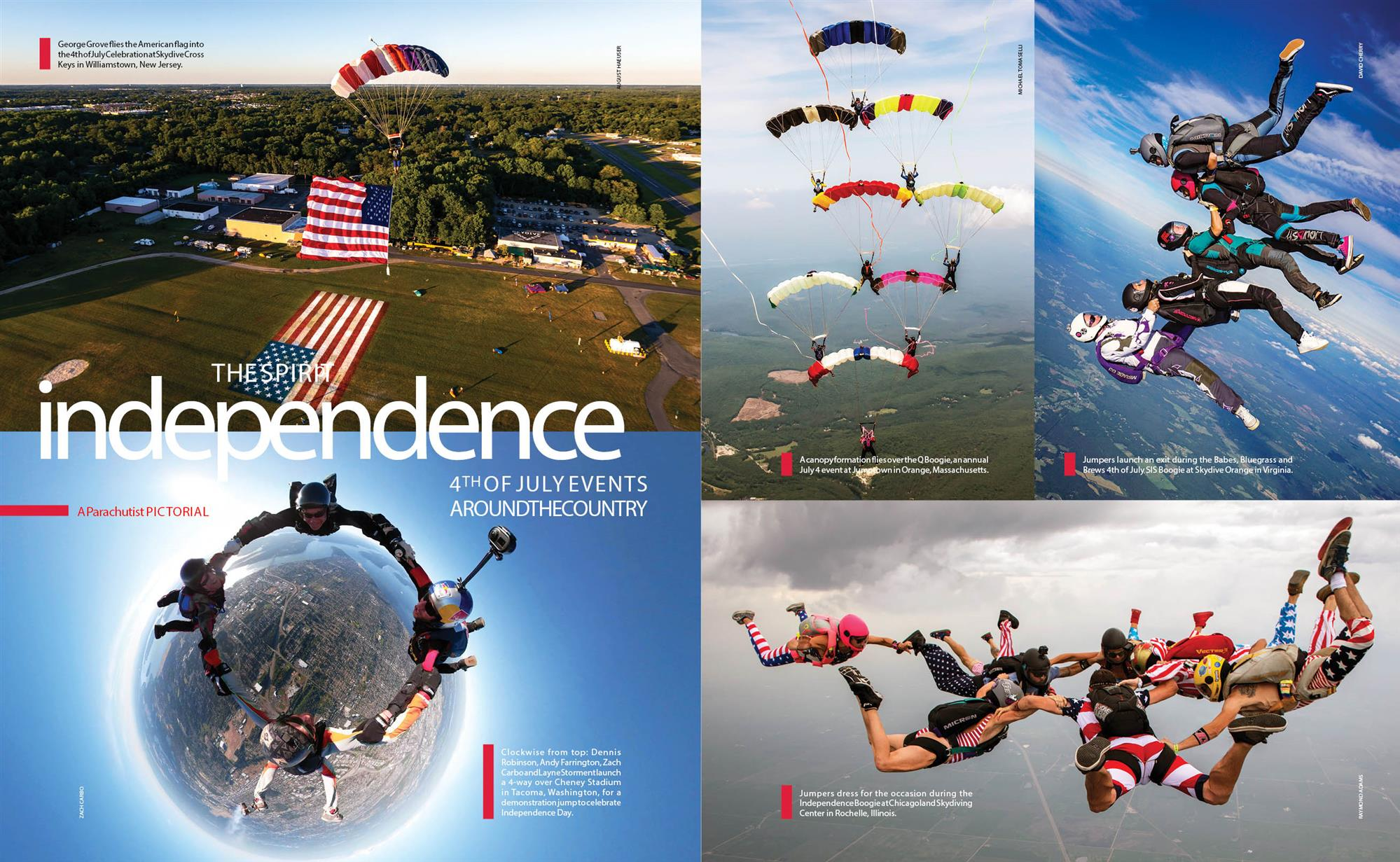 The Spirit of Independence--4th of July Events Around the