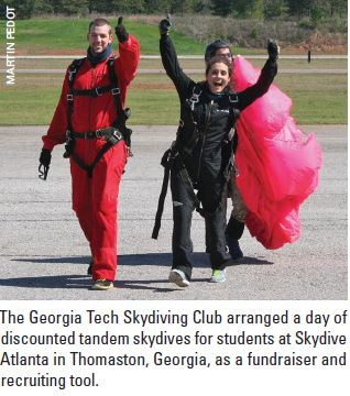 College Skydiving Clubs: How and Why to Start One