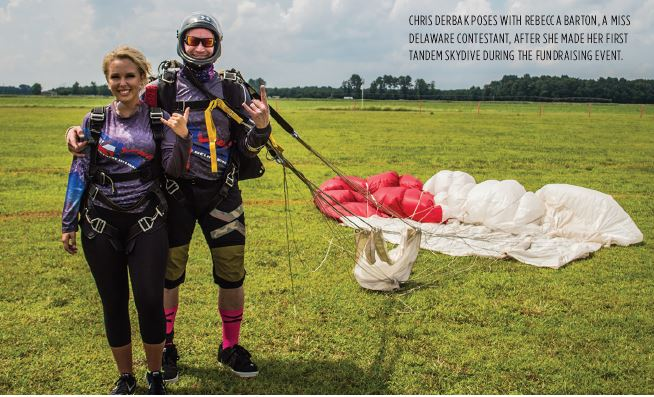 On Valor—Skydivers Work Together to Help a Hero